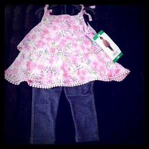 NWT BCBG Toddler Girl Outfit